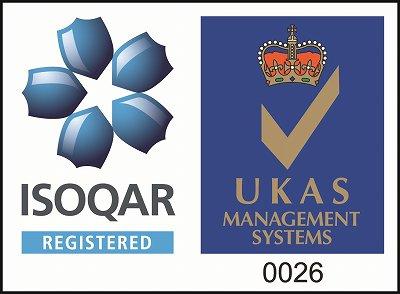 ISO9000を認証取得しました